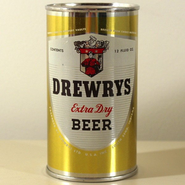 Drewrys Extra Dry Beer Yellow Sports 056-22 Beer