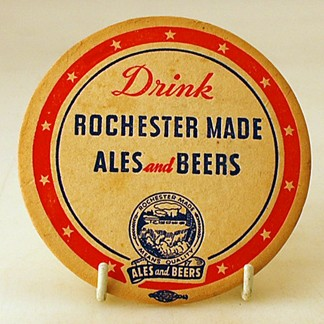 Drink Rochester Made Coaster Beer