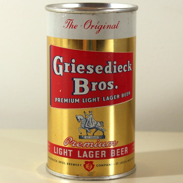 Griesedieck Bros. Premium Light Lager Beer 076-12 Beer