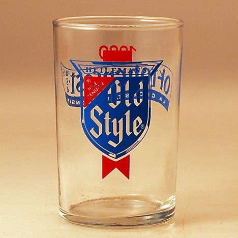 Heileman's Old Style Oktoberfest Glass Beer