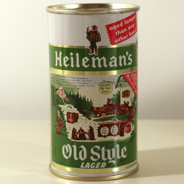 Heileman's Old Style Lager Beer 108-15 Beer