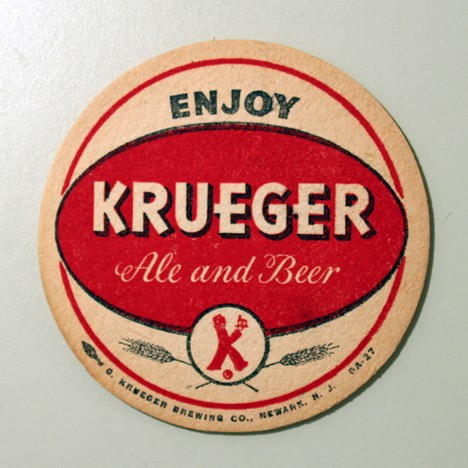 Krueger Ale And Beer (Red Oval) Beer