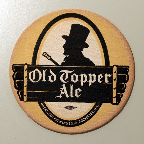 Old Topper Ale Union Label Beer
