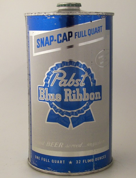 "Pabst Blue Ribbon Beer ""Snap Cap"" 217-05 Beer"