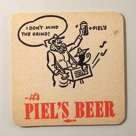 Piel's I Don't Mind The Grind - Organ Grinder Beer