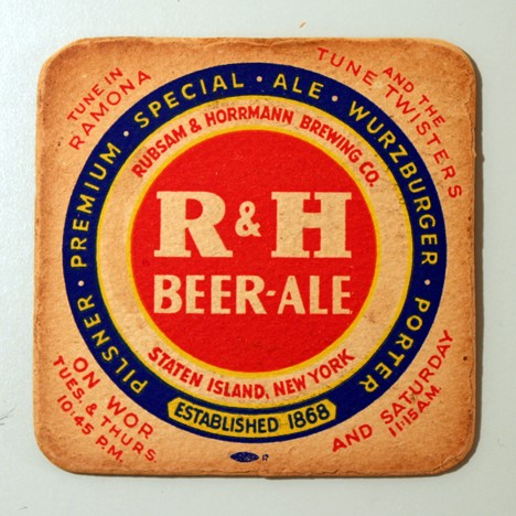 "R&H Beer - Ale - ""Tune In Ramona & The Tune Twisters"" Beer"