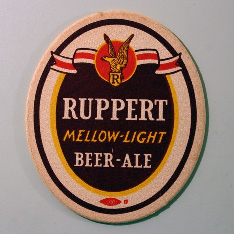 Ruppert Mellow-Light Beer - Ale Union Label Beer