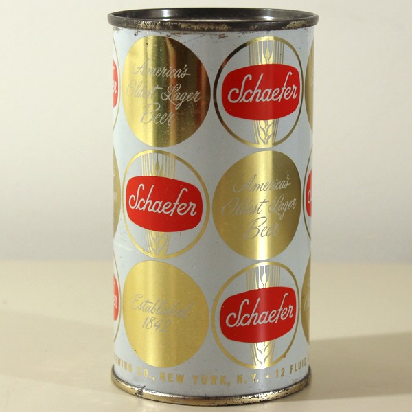 Schaefer Lager Beer 128-17 Beer