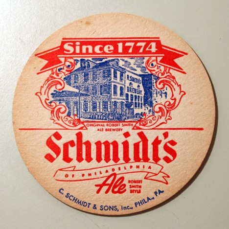 "Schmidt's Beer & Ale - ""Since 1774""/""Since 1860"" Beer"
