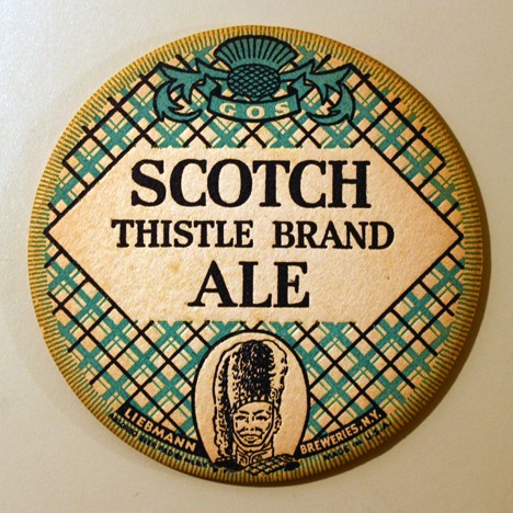 Scotch Thistle Brand Ale Beer