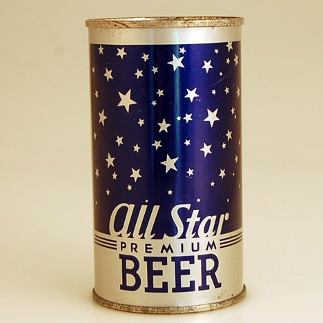 All Star Beer Can 016 Beer