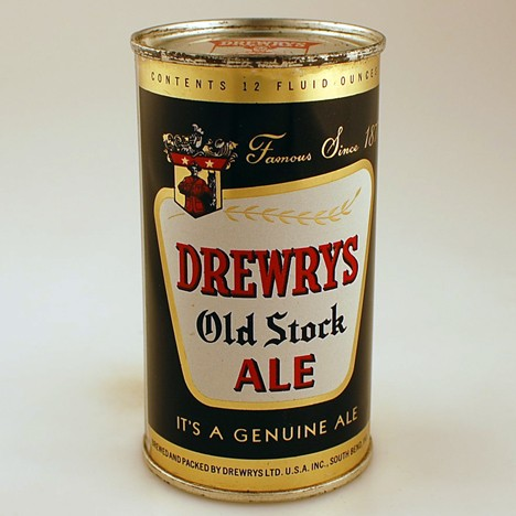 Drewrys Old Stock Ale Black 055-30 Beer