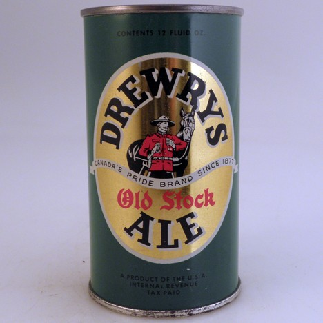 Drewrys Old Stock IRTP 055-27 Beer