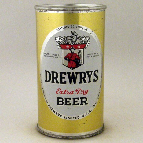 Drewrys Oval Yellow Sports L-056-09 Beer