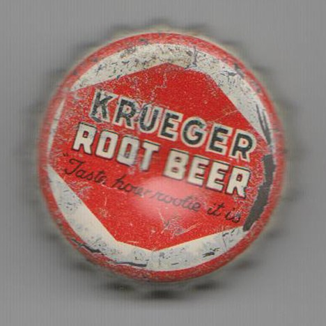 Krueger Root Beer Red Black Beer