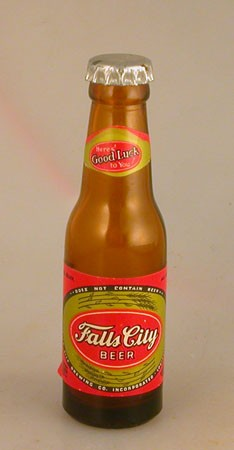 Falls City Mini Beer Bottle Beer