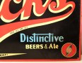 Brucks Distinctive Beers & Ale Tin Sign Photo 2