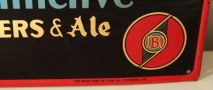 Brucks Distinctive Beers & Ale Tin Sign Photo 5